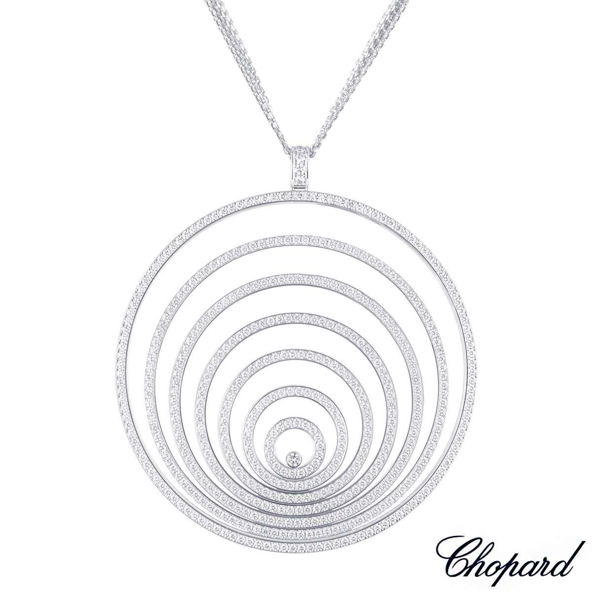 Chopard white gold happy spirit diamond pendant 7957781001 rich chopard white gold happy spirit diamond pendant 7957781001 aloadofball Image collections